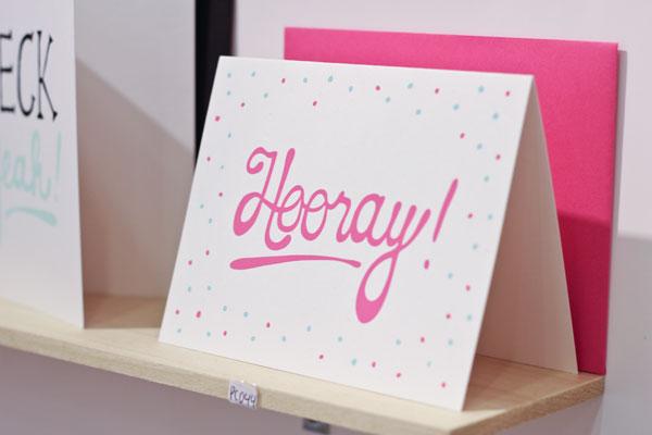 The Paper Cub Hooray Card