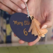 DIY Tassel Place Cards on POPSUGAR Girls' Guide