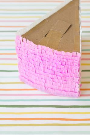 Torta de cumpleaños Piñata Tutorial Pasos