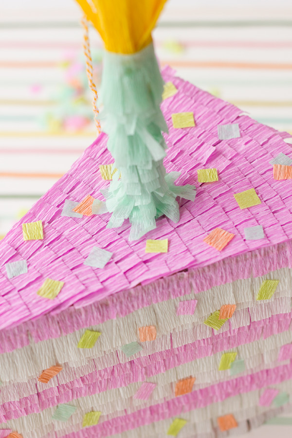 Piñata Cake Slice DIY Tutorial