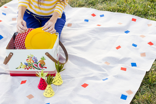 Colorful DIY Picnic