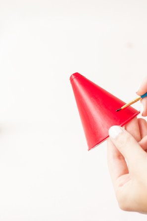DIY Berry Party Hats