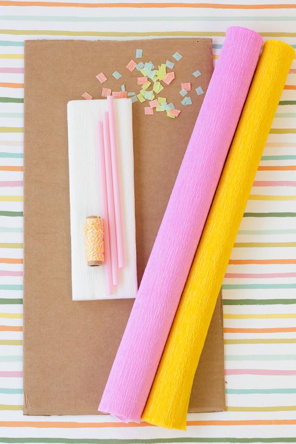 DIY Suministros Pastel de cumpleaños Piñata