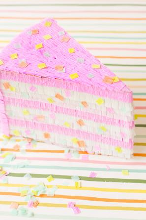 DIY Funfetti Cake Piñata