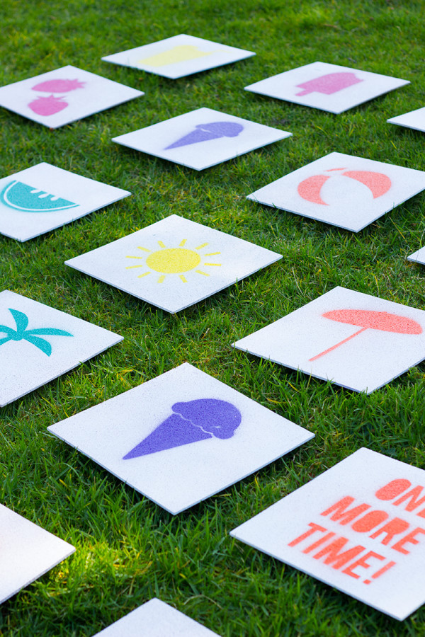 DIY Giant Matching Game