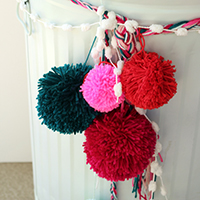 Five Crazy Things to do with Yarn Poms