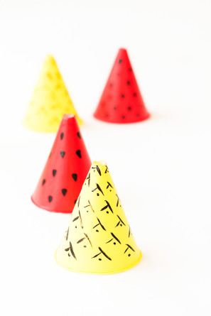 Fruit Party Hats