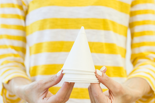 Garnish Paper Cone Cups