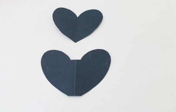 Heart Garland Template