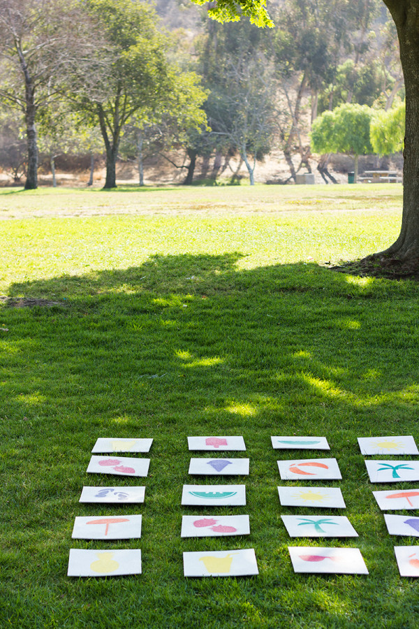 How To Make a Giant Lawn Matching Game