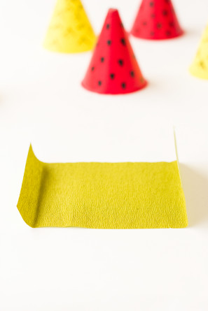 Mini Fruit Party Hat DIY