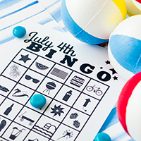 Free Printable July 4th Bingo