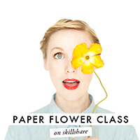 Happy Weekend (+ Let's Make Paper Flowers Together!)