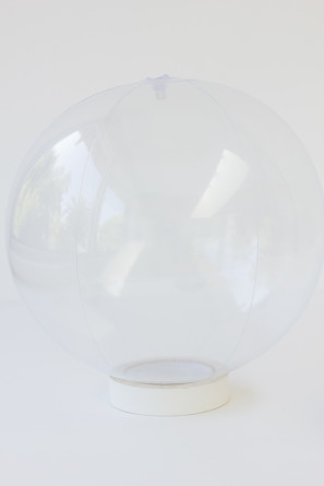 Clear Beach Ball DIY