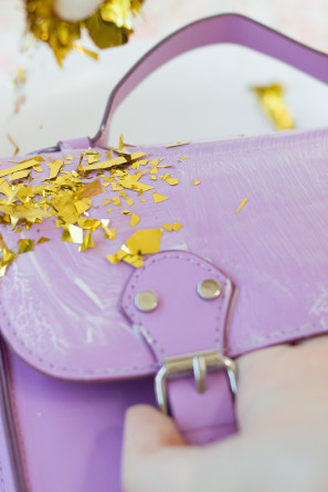 Confetti Dipped Purse
