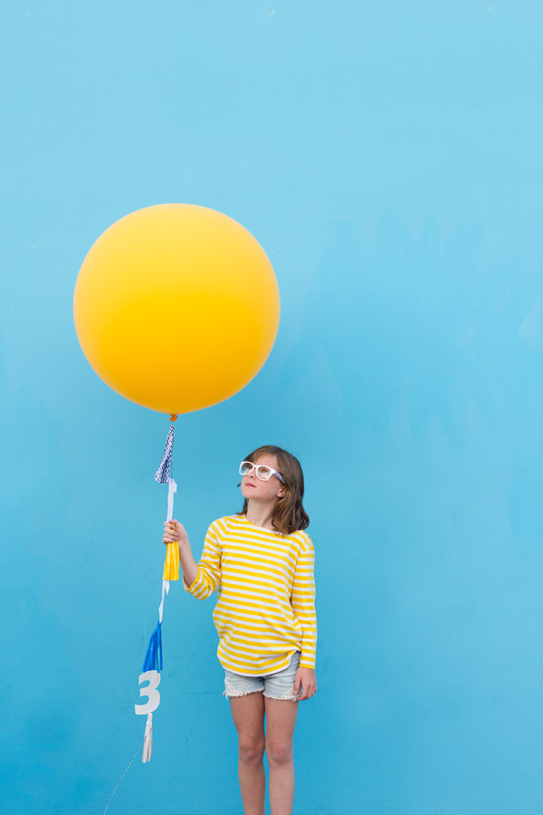 DIY Back to School Balloon