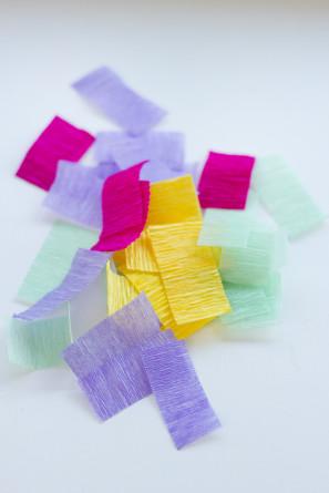 DIY Crepe Paper Sprinkles