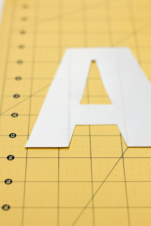 DIY Duct Tape Letters
