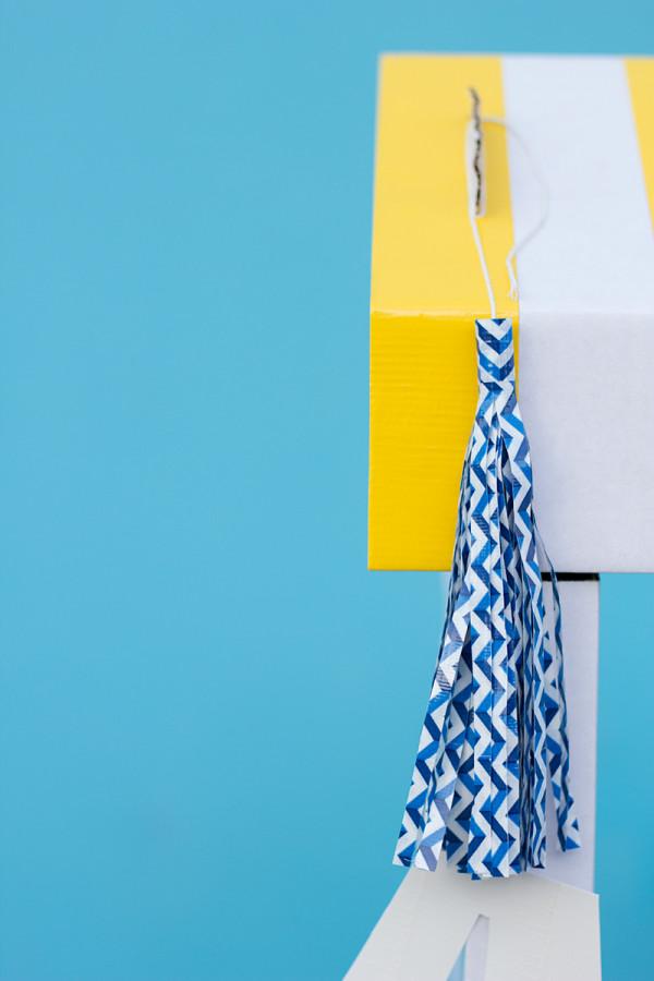 DIY Duct Tape Tassels