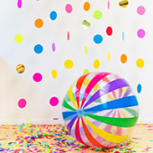 DIY Floating Confetti Photobooth (In a Box!)
