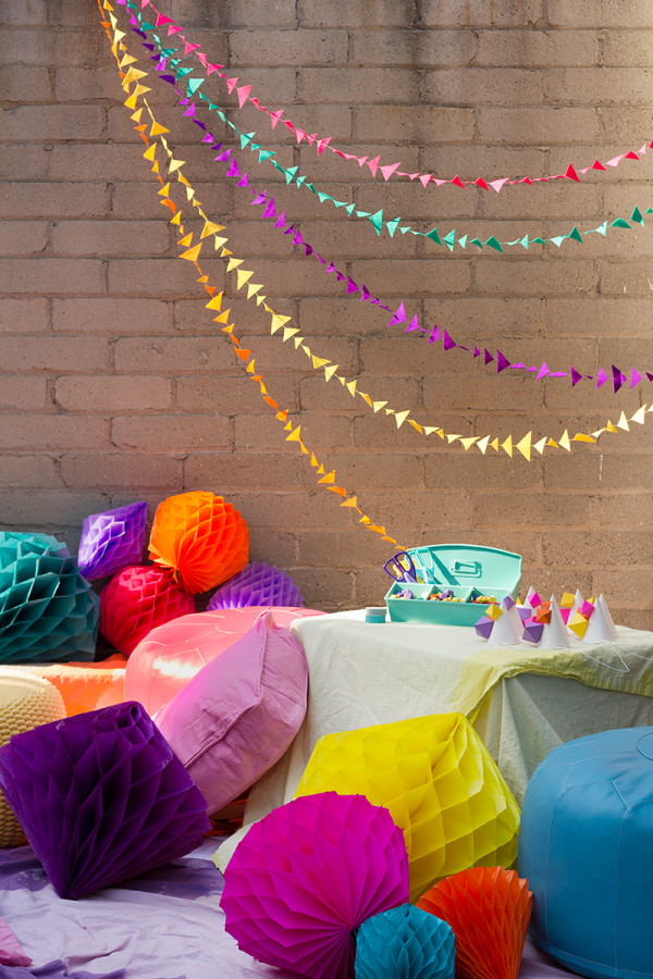 DIY Geometric Birthday