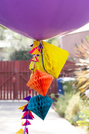 DIY Geometric Giant Balloon