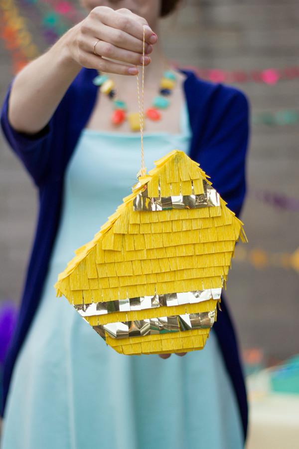 DIY Geometric Piñata