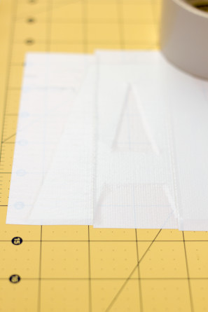 Duct Tape Letters DIY