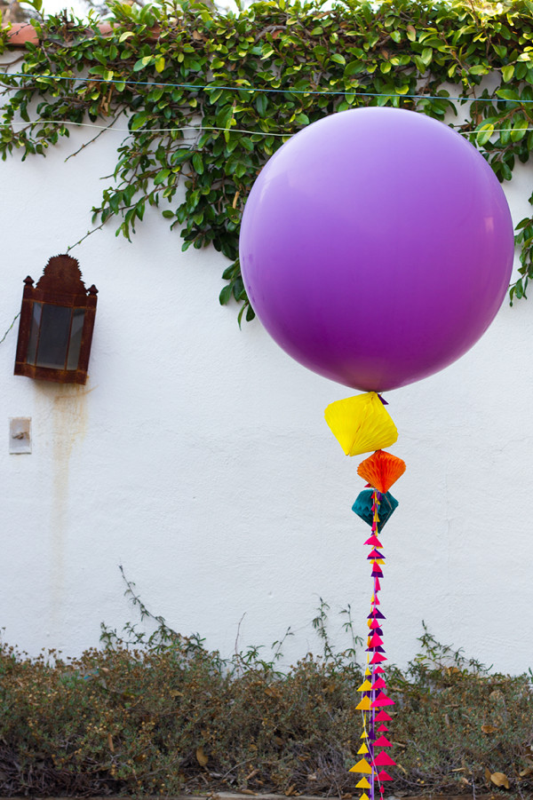 Geometric Balloon Decor