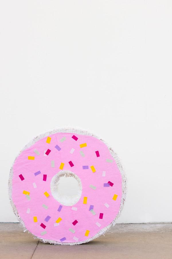 Giant Donut Pinata DIY
