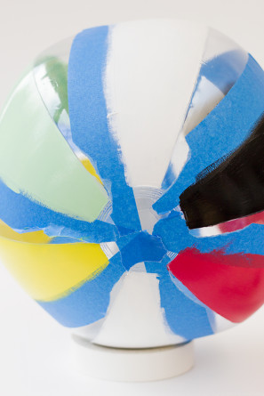 How To Paint a Beach Ball