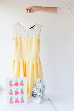 Iron On Transfer Pineapple Dress