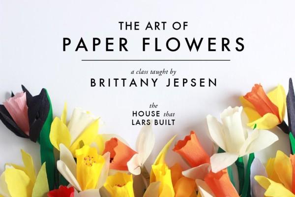 Paper Flower Online Class