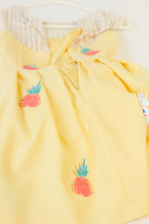 Pineapple Party Dress DIY