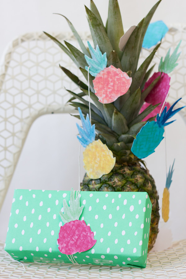 Pineapple Party Free Printables