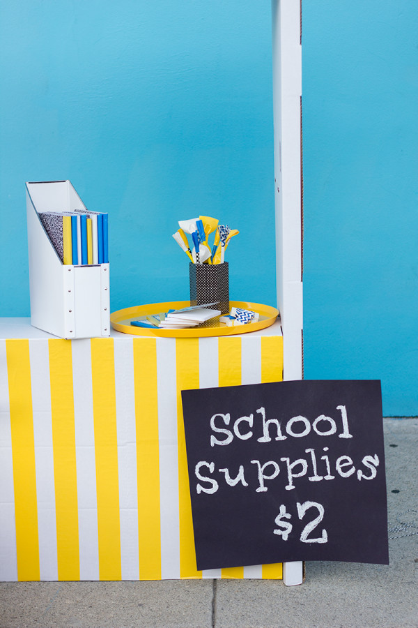 School Supplies with Scotch Duct Tape