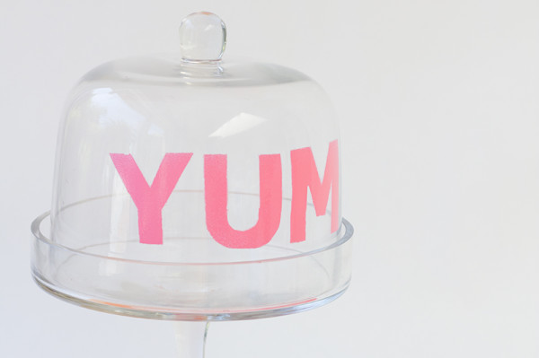 YUM Cake Dome DIY Tutorial
