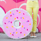 DIY Donut Piñata (+ A Surprise Virtual Baby Shower!)