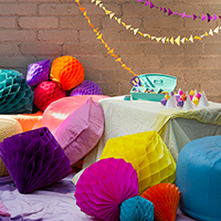 Kellyn's DIY Geometric Birthday Party