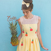 DIY Pineapple Dress