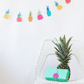 Pineapple Party Printables