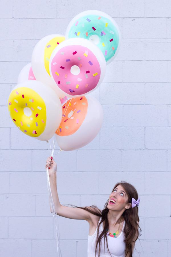 DIY Donut Balloons by Studio DIY