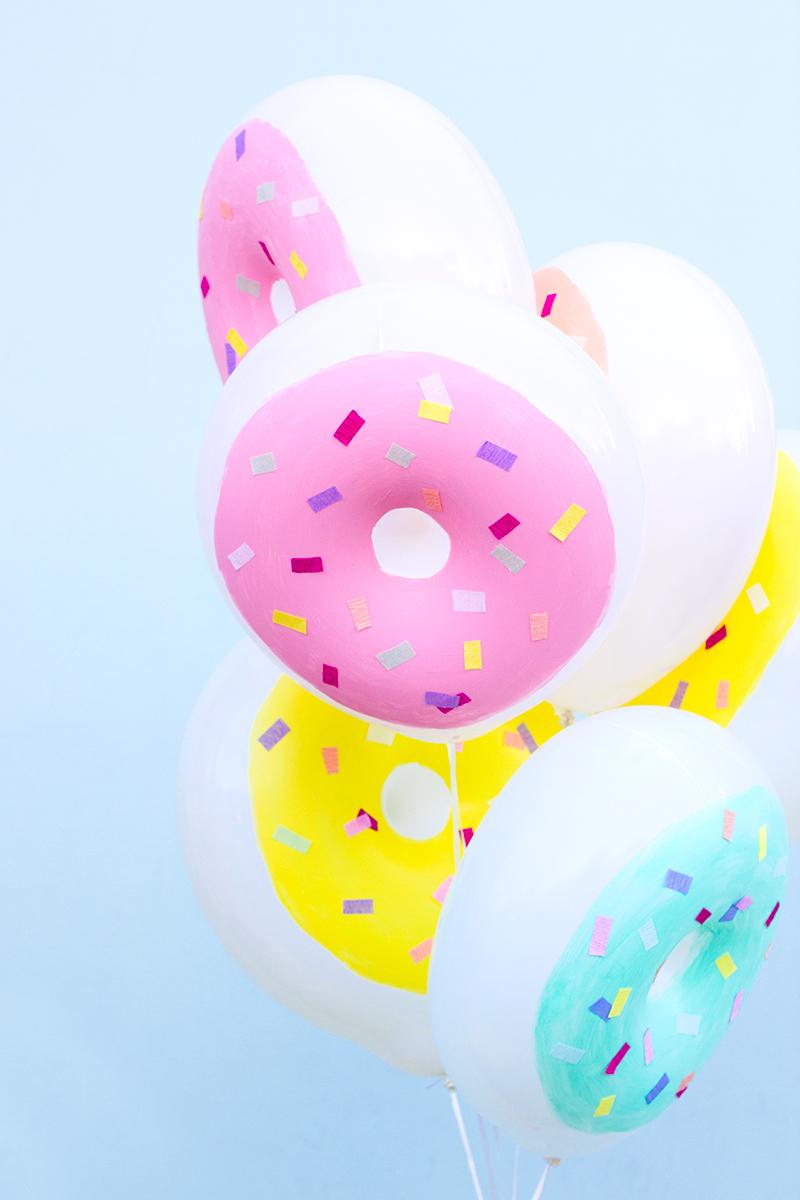 DIY Donut Balloons | Studio DIY