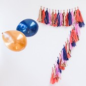 DIY Tassel Garland Numbers (+ A Giveaway!)
