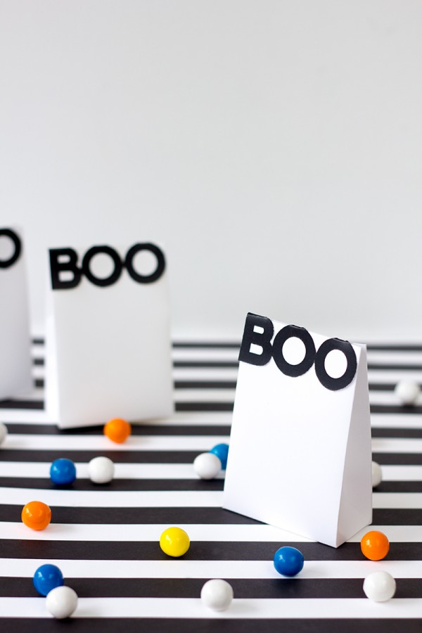 Boo! Treat-Bag Printables for Halloween