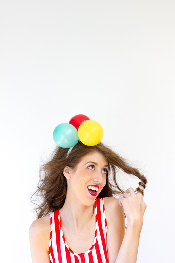 "DIY ""Airhead"" Costume"