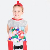 DIY Gumball Machine Costume