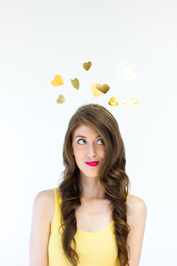 "DIY ""Heart of Gold"" Costume"