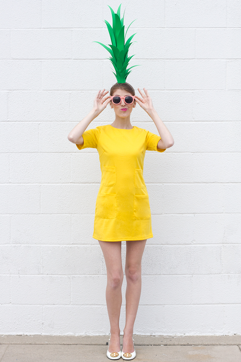 Diy Pineapple Costume1