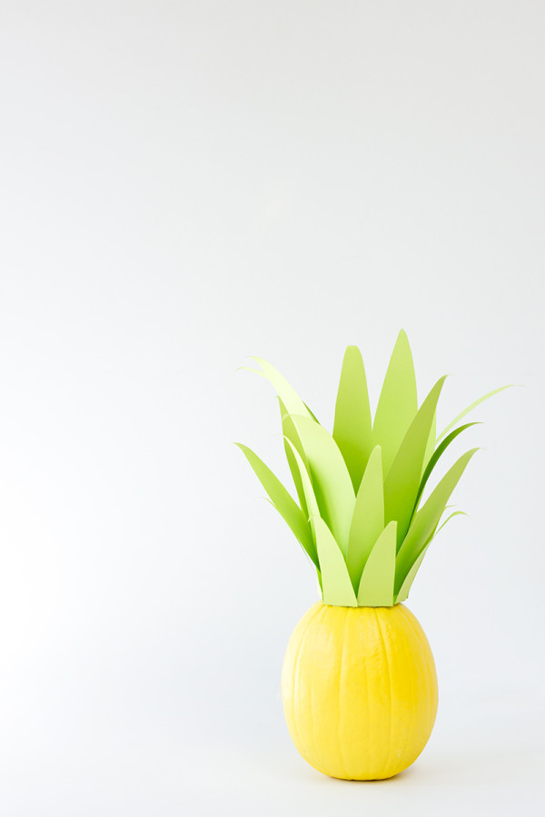 Pineapple Pumpkin DIY